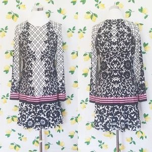 {NWT} Eliza J • Floral Print Dropwaist Dress